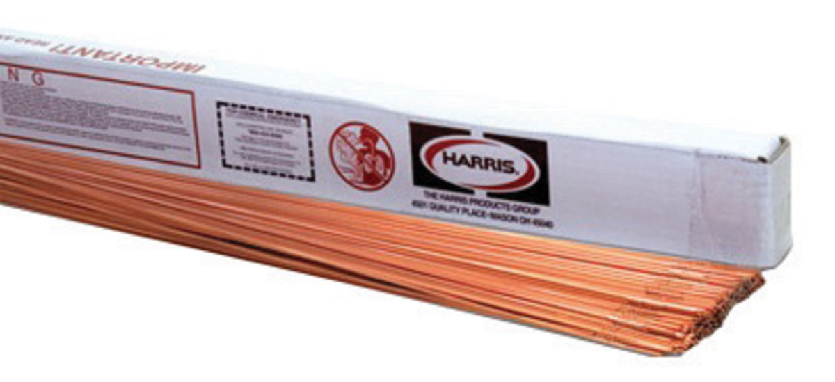 INEGAS G1 RG-45 1//8 x 36-Inch on 10-Pound Tube Copper Coated Rod for Oxyfuel Welding