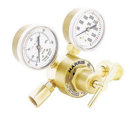 Harris® Model 301-AR60-580 Medium Duty/Heavy Duty Argon And Argon/CO2 Mix Single Stage Regulator Flowgauge, CGA-580