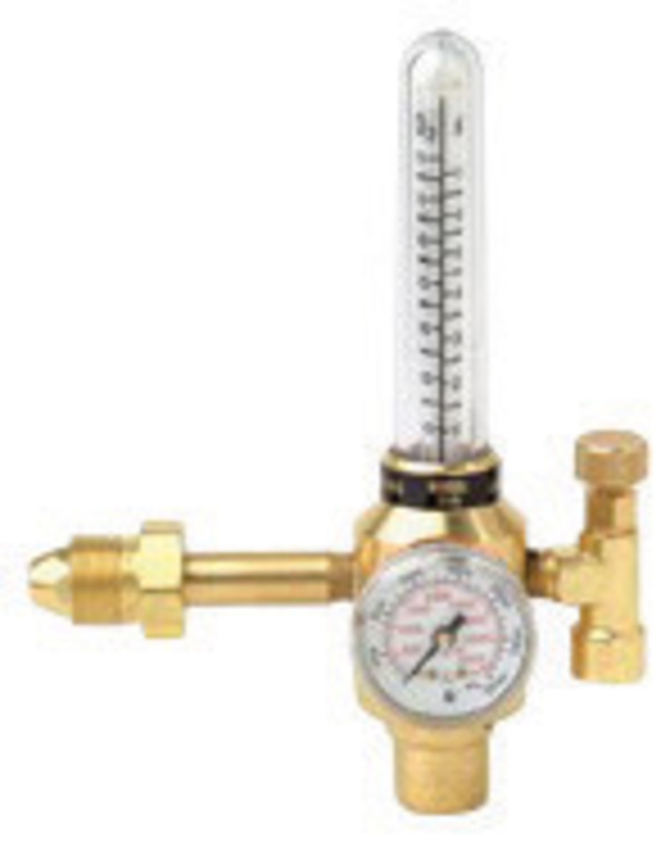 welding gas flow meter. harris® model 355-2-ar/he-580 heavy duty argon or welding gas flow meter o