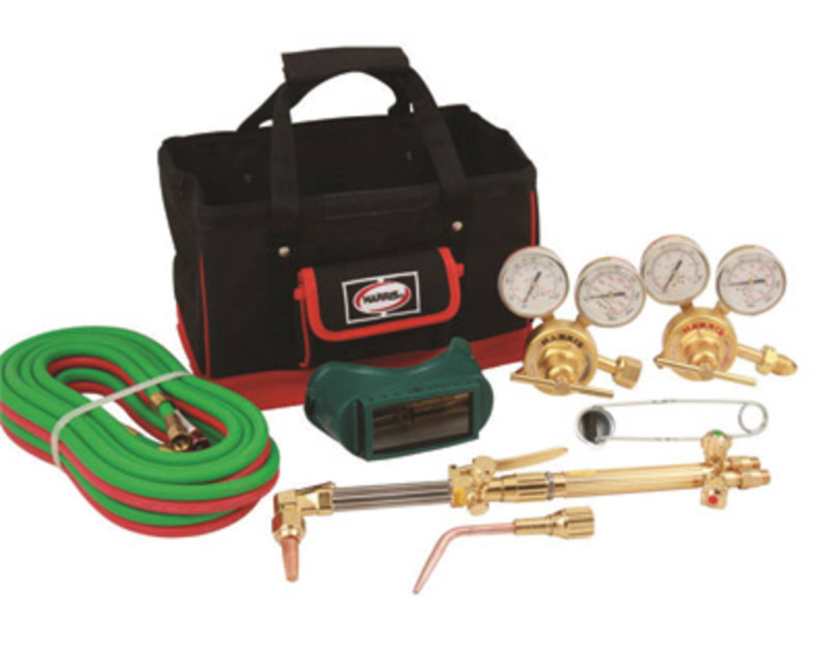 Harris Model 43425 300 Pipeliner Classic Deluxe Heavy Duty Cutting Welding Outfit