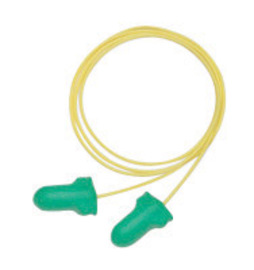 Honeywell Howard Leight®/Max-Lite® Contoured T-Shape Polyurethane Foam Corded Earplugs (Paper Bag)