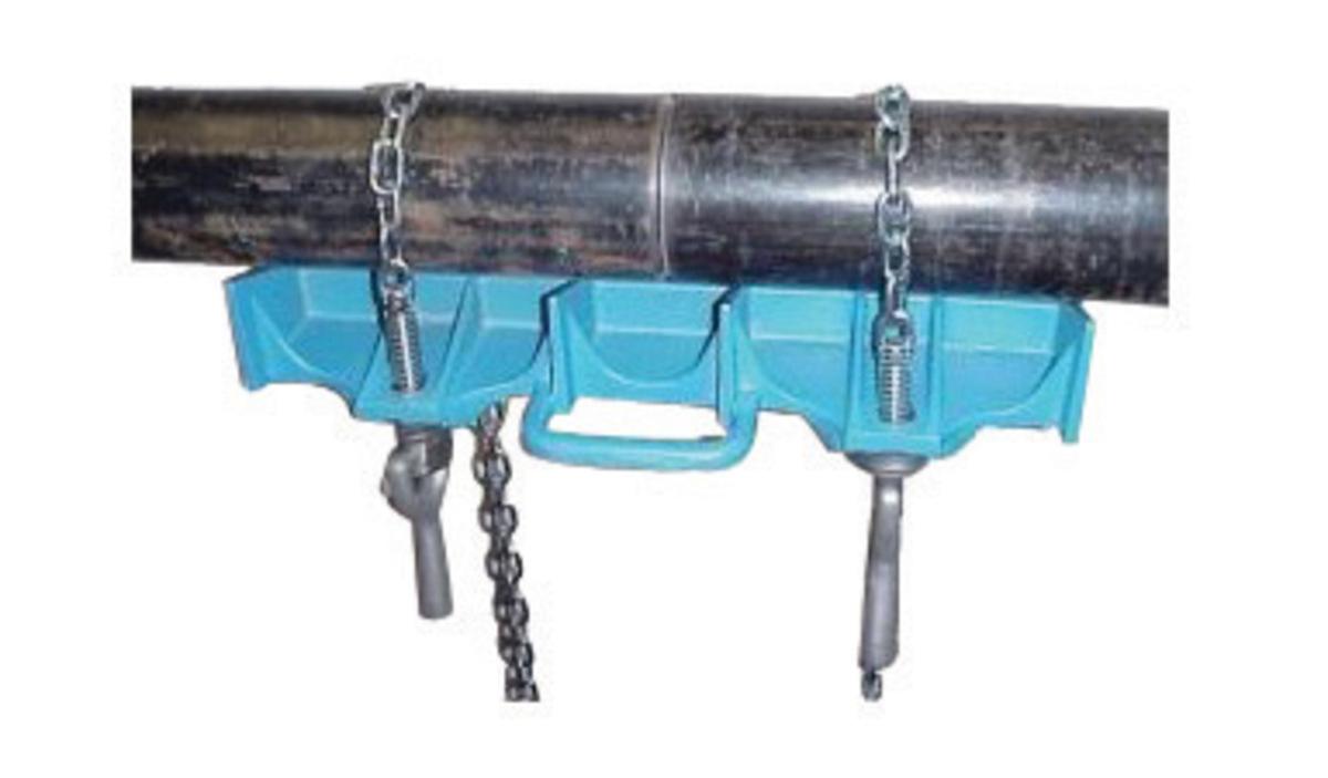 Airgas hmbapc a h m aluminum adjustable pipe clamp