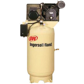 Ingersoll Rand Model 2475N7.5 7.5 HP 24 CFM 175 PSIG Two-Stage Reciprocating Air Compressor With 80 Gallon Vertical Tank And 3/4