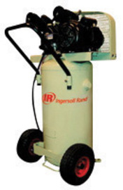 Ingersoll Rand 2 hp 5.5 CFM 135 PSI Portable Single-Stage Garage Mate Air Compressor With 20 Gallon Vertical Tank