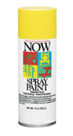 Krylon® Products Group 9 Ounce Aerosol Can Wrought Iron Black Krylon® Now® Enamel Spray Paint