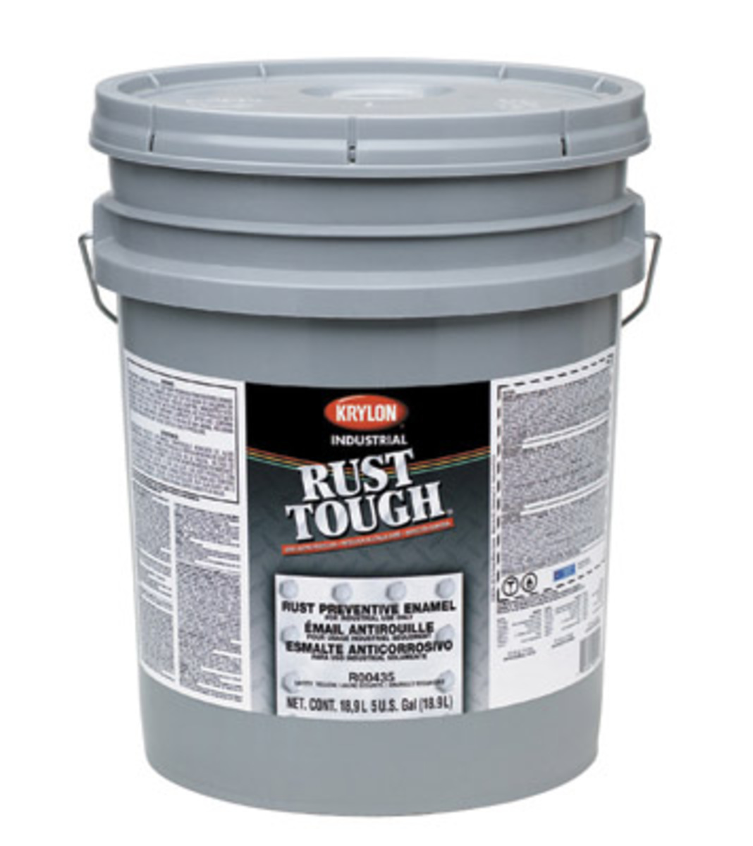 Airgas k04r00475 krylon products group 5 gallon yellow industrial coatings rust tough - Acrylic paint exterior plan ...