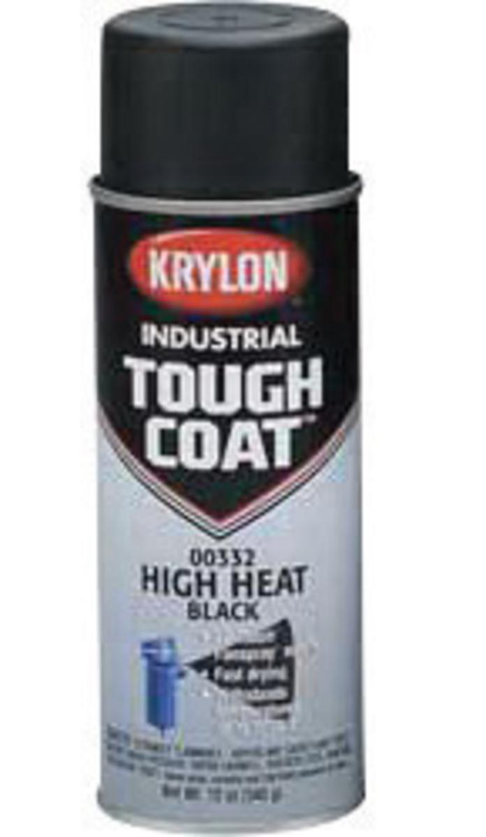 aerosol can high heat black krylon tough coat acrylic enamel paint. Black Bedroom Furniture Sets. Home Design Ideas