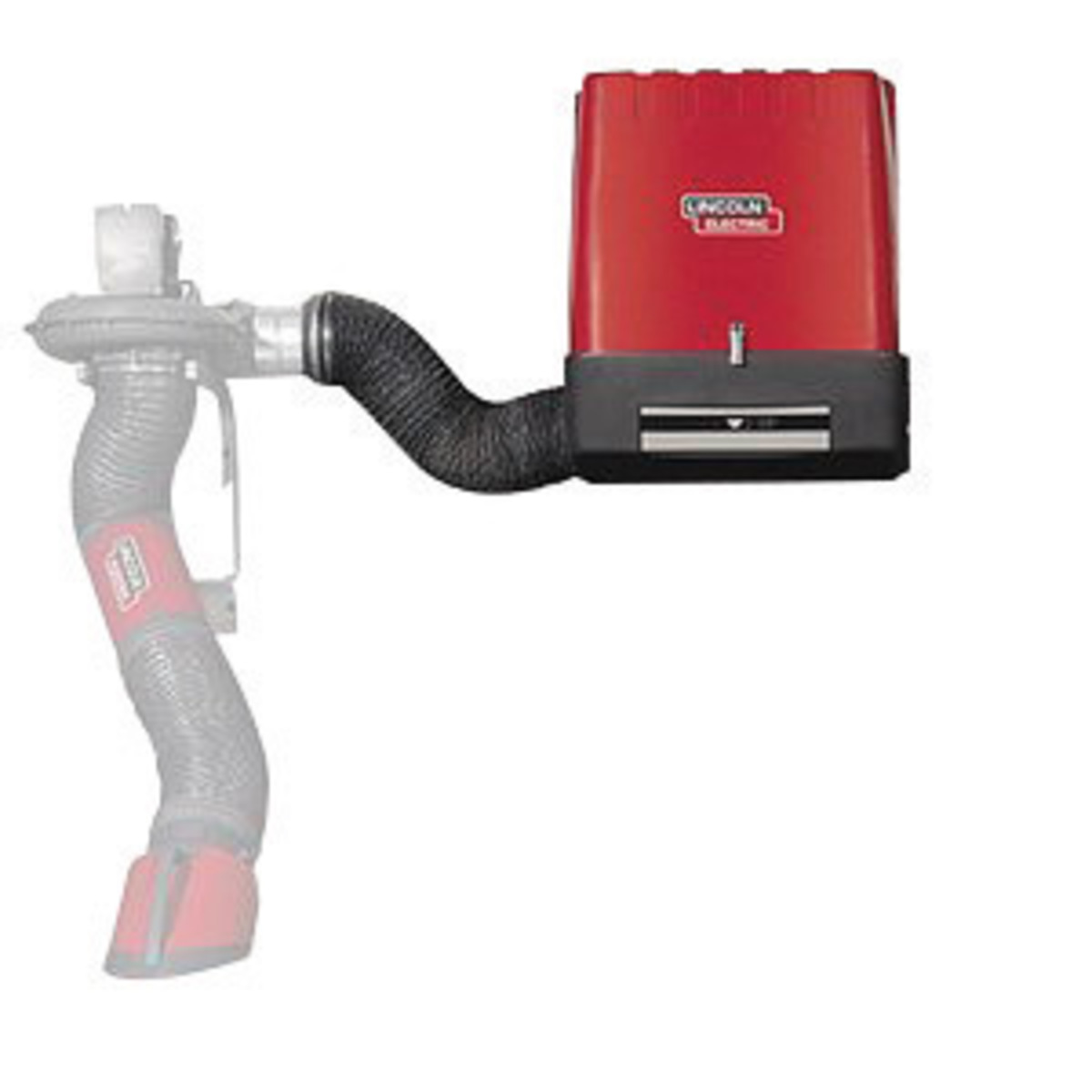 Wall Mount Welding Fume Extractor : Airgas link lincoln electric statiflex m
