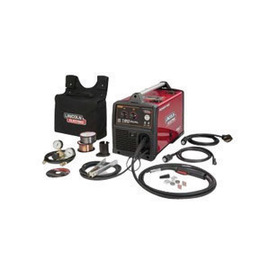Lincoln Electric® Power MIG® 180 Dual MIG Welder 120/208/230Volt With Magnum® PRO 100L Gun With 10' Leads, Work Cable And Clamp, Gas Regulator And Hose