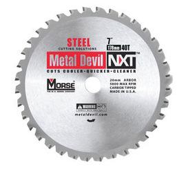 "Morse® 14"" X 1"" 1800 RPM 66 TPI Metal Devil® NXT™ Carbide Tipped Circular Saw Blade (For Metal Cutting) | Tuggl"
