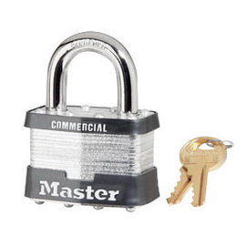 Master Lock® Yellow Steel Padlock With 1