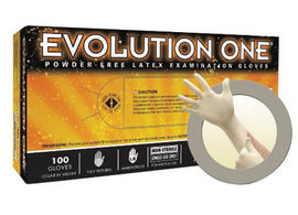 Ansell X-Small Natural Microflex® Evolution One® 5.5 mil Latex Medical Grade Powder-Free Disposable Gloves (100 Gloves Per Box)