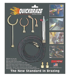 Miller® Quickbraze® Oxy-Fuel Or Acetylene Brazing, Refrigeration And Air Conditioning  Torch Outfit With Torch,
