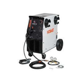 Hobart® IronMan 230 MIG Welder 200/208/230 Volt With 200 Amps MIG Gun With 15' Leads And Built-In Running Gear/Cylinder Rack