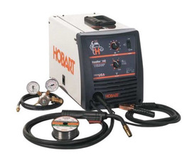 Hobart® Handler® 140 MIG Welder, 115 Volt 90 Amps At 18.5 Volts At 20% Duty Cycle 140 Single Phase 57 lb
