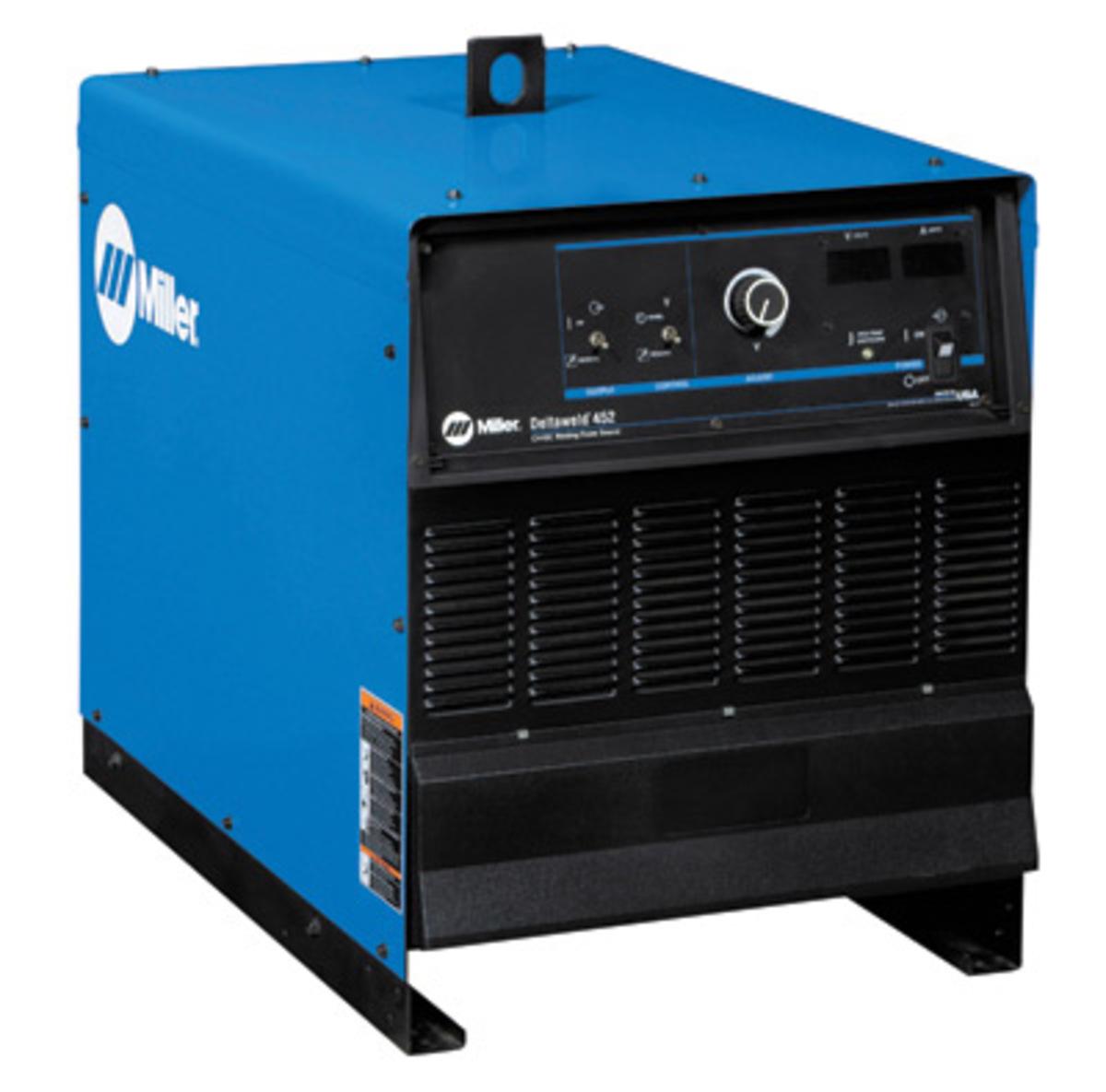 Airgas Wiring A Welder Miller Deltaweld 452 Mig 230 460 575 Volt With
