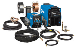 Miller® Invision™ 352 MPa Plus MIG Runner™ MIG Welder, 208 - 575 Volt 300 Amps At 32 Volts At 60% Duty Cycle 425 1 Or 3 Phase 80 lb