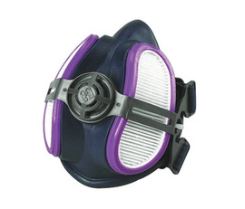 Miller® LPR-100 Reusable Half Mask Respirator With (2) P100 Particulate Filter For ARC ARMOR™ PAPR System