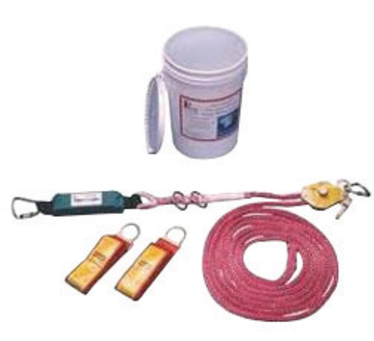 Load Of Fall Arrest Indicator : Airgas msa  gravity dyna line single