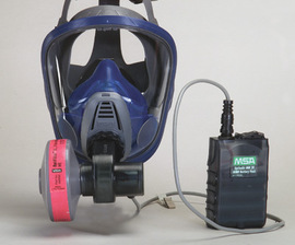 MSA OptimAir® TL Full Face Respirator