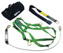 MSA Thermatek™ Fall Protection Kit (Includes Anchorage Connector Strap, 6' Shock Absorbing Lanyard, Harness And Carry Bag)