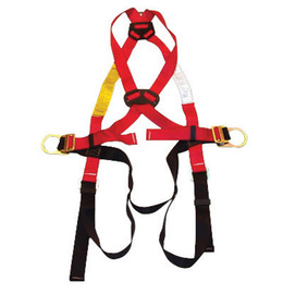 MSA Standard EVOTECH® Full Body Style Harness With Qwik-Fit™ Chest And Leg Strap Buckle And Back D-Ring