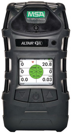 MSA ALTAIR® 5X Combustible Gas, Carbon Monoxide, Hydrogen Sulfide, Oxygen And Sulfur Dioxide Monitor