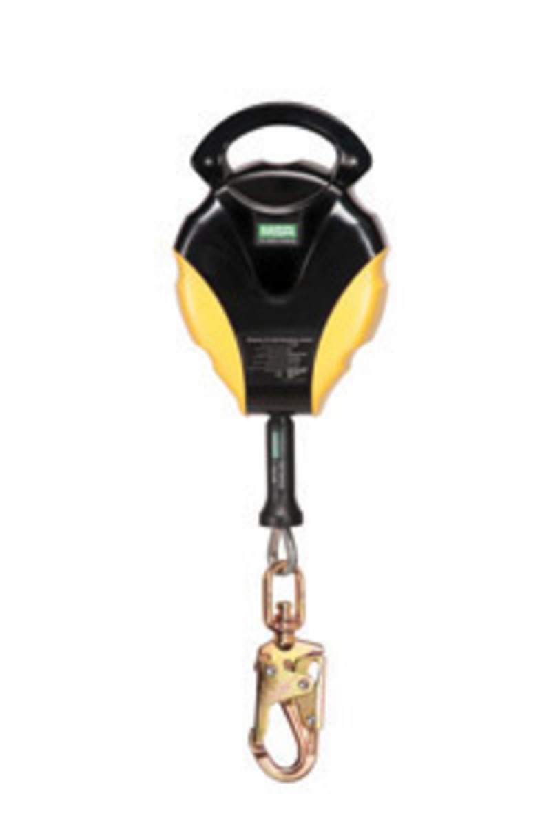 Load Of Fall Arrest Indicator : Airgas msa  workman stainless steel