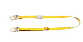 "MSA 6' 1"" Nylon Web Single-Leg Restraint Lanyard With RL20 Snap Hooks Harness And Anchorage Connection | Tuggl"