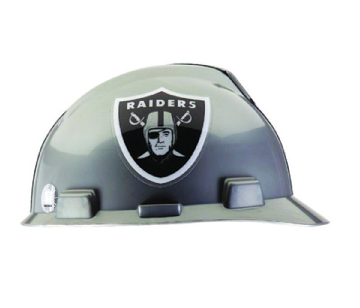MSA Black Polyethylene Cap Style Hard Hat With 4 Point Pinlock Suspension 7156b0e1281f