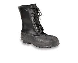 Servus by Honeywell Size 13 Servus® Black Insulated Leather And Rubber Safety Pac Boots With Steel Toe
