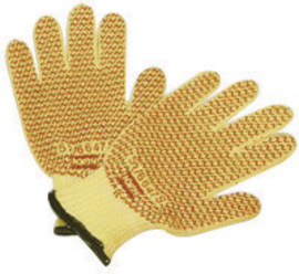 Honeywell Medium North® Grip N® 7 Gauge DuPont™ Kevlar®, Polyester And Cotton Cut Resistant Gloves With Nitrile Coated Palm