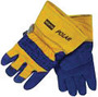 Honeywell One Size Fits Most Blue And Yellow North® Polar Canvas And Leather Thinsulate® Lined Cold Weather Gloves