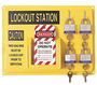 Honeywell Yellow Polystyrene Personal Complete Lockout Station