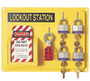 Honeywell Yellow Polystyrene Complete Lockout Station