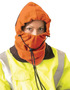 OccuNomix Hi-Viz Orange 100% Polyester Plush Fleece Hot Rods® 3-In-1 Balaclava