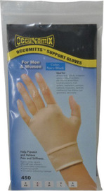 OccuNomix Medium Blue Original Occumitts® Spandex®/Nylon Therapeutic Support Gloves