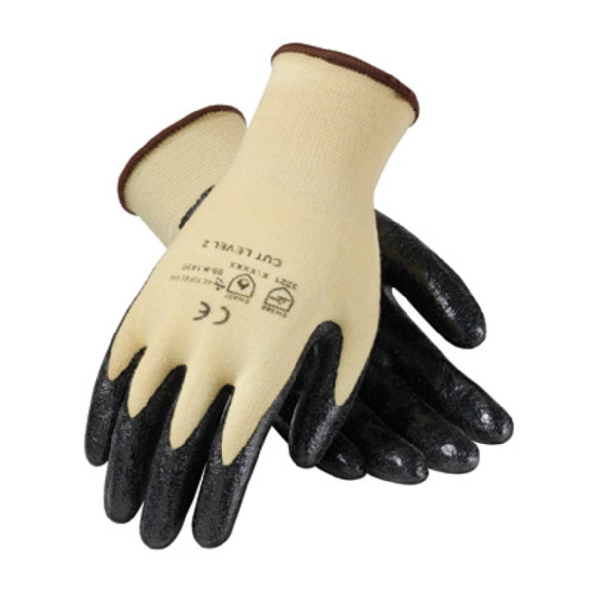 Black nitrile gloves xs - Protective Industrial Products X Small Kut Gard 15 Gauge Medium Weight Cut