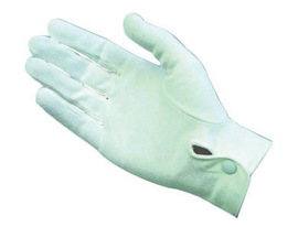 PIP® Large Cabaret™ Light Weight Cotton Inspection Gloves With Snap Cuff