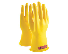 Protective Industrial Products Size 9 Yellow Rubber Class 2 Linesmens Gloves