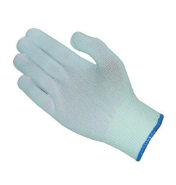 PIP® Medium CleanTeam® Light Weight Nylon Inspection Gloves With Hem Cuff