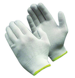 PIP® Small CleanTeam® Light Weight Polyester Inspection Gloves With Knit Wrist