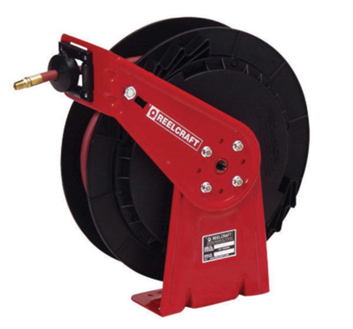 """Reelcraft® RT Series 3/8"""" X 50' 300 psi Spring Retractable Air/Water"""