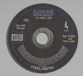 Radnor 5 X 7//8 36 Grit Aluminum Oxide Fiber Di