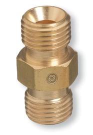 1 Unit RADNOR 9//16-18 B Brass Fuel Gas//Oxygen Hose Repair Kit