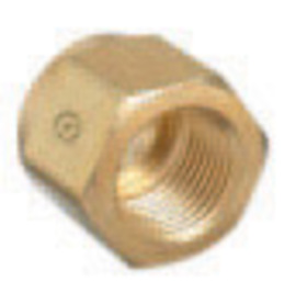 RADNOR® CGA-320 Brass Carbon Dioxide Regulator Nut