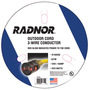 Radnor® 10/3 X 100' Extension Cord With Lighted End