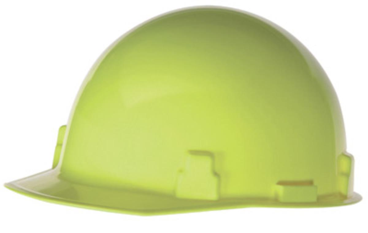 Radnor Yellow SmoothDome Polyethylene Cap Style St