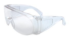 Radnor® Visitor Spec Series Safety Glasses With Clear Frame And Clear Polycarbonate Lens
