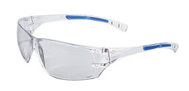 Radnor® Cobalt Classic Series Safety Glasses With Clear Frame, Clear Lens And Flexible Cushioned Temples